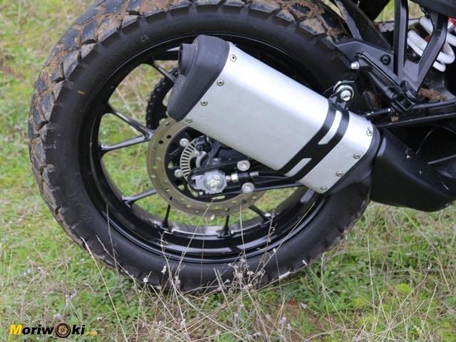 Prueba KTM 390 Adventure. Silencioso.