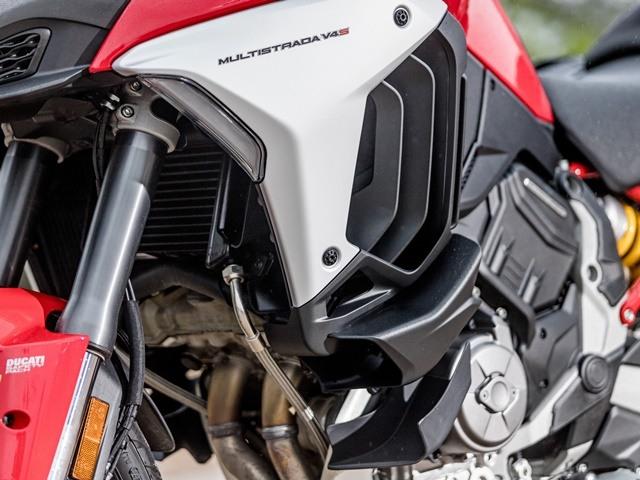 Prueba Ducati Multistrada V4. Aletas.