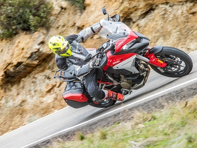Prueba Ducati Multistrada V4. Perfil off road. Posicion