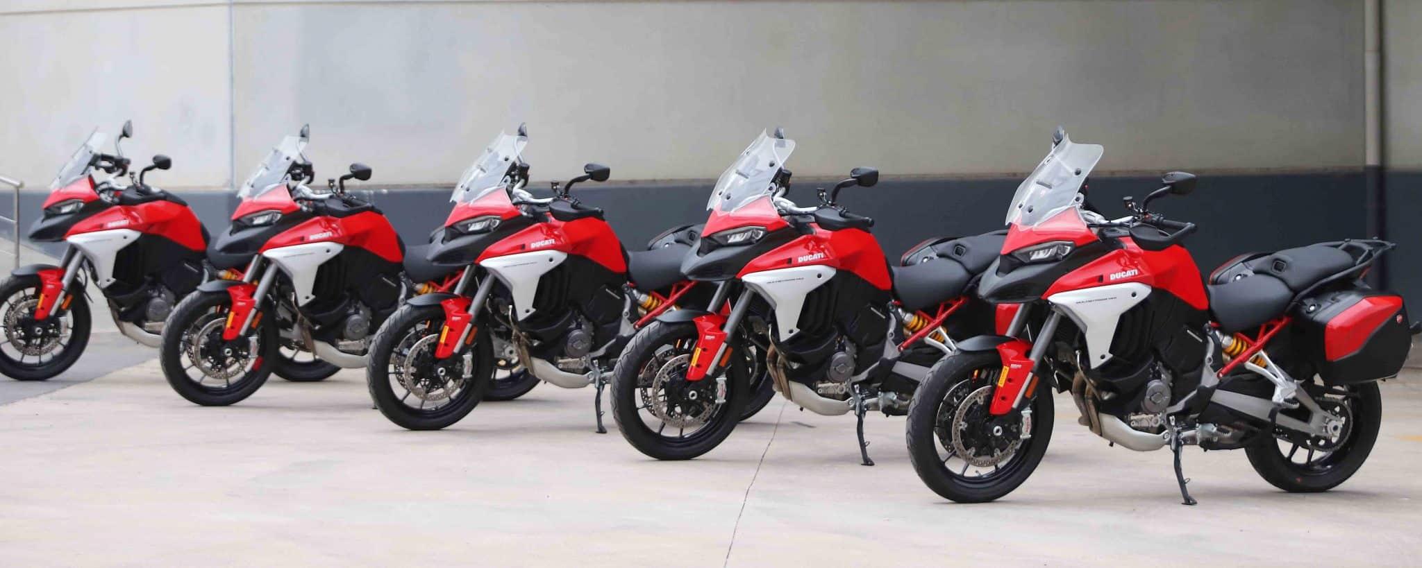 Prueba Ducati Multistrada V4. Portada