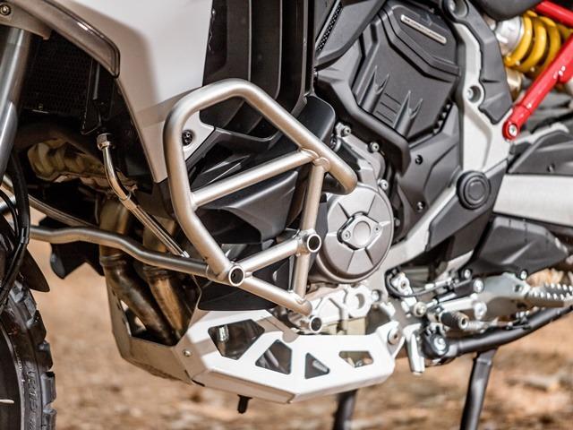 Prueba Ducati Multistrada V4. Protecciones.