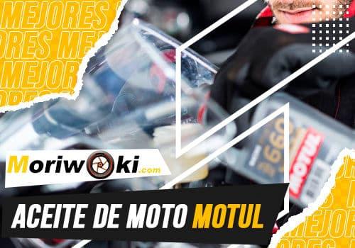 Mejores aceite de moto motul