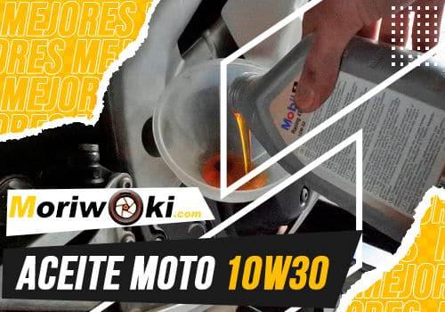 Mejores aceite moto 10w30