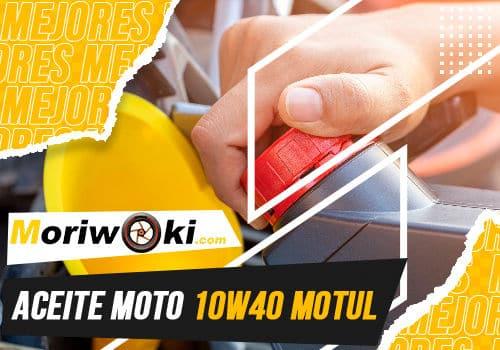 Mejores aceite moto 10w40 motul