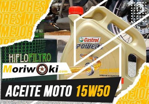 Mejores aceite moto 15w50