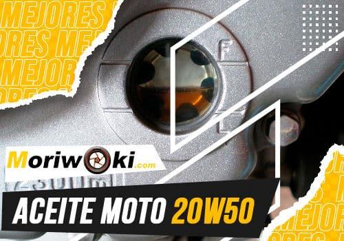 Mejores aceite moto 20w50