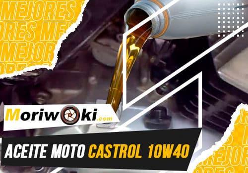 Mejores aceite moto castrol 10w40