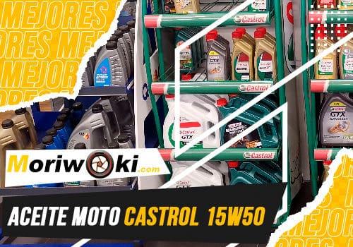 Mejores aceite moto castrol 15w50