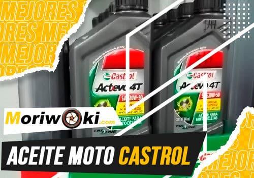 Mejores aceite moto castrol