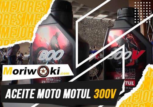 Mejores aceite moto motul 300v
