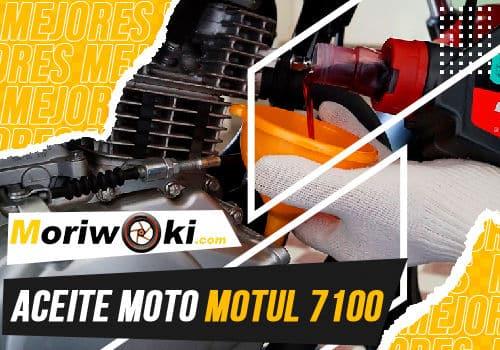 Mejores aceite moto motul 7100