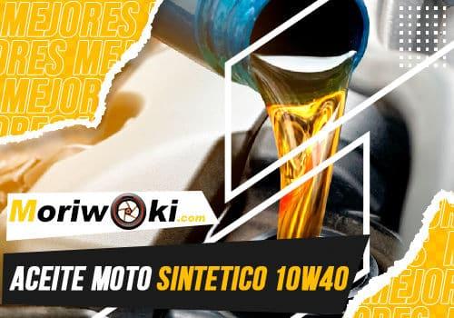 Mejores aceite moto sintetico 10w40
