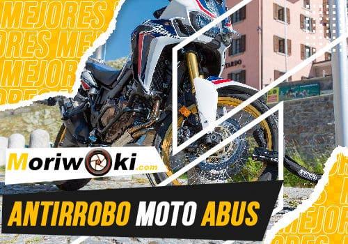 Mejores antirrobo moto abus