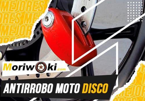 Mejores antirrobo moto disco