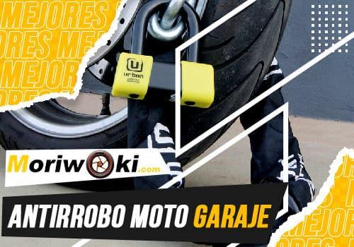 Mejores antirrobo moto garaje