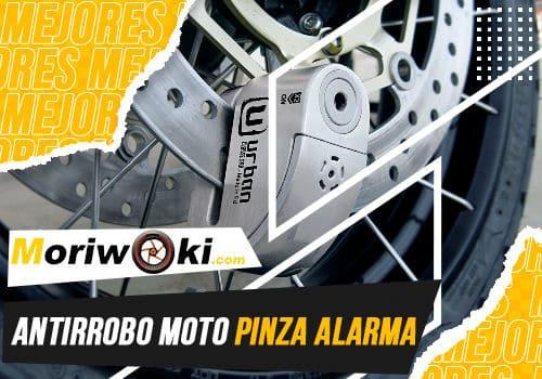 Mejores antirrobo moto pinza alarma