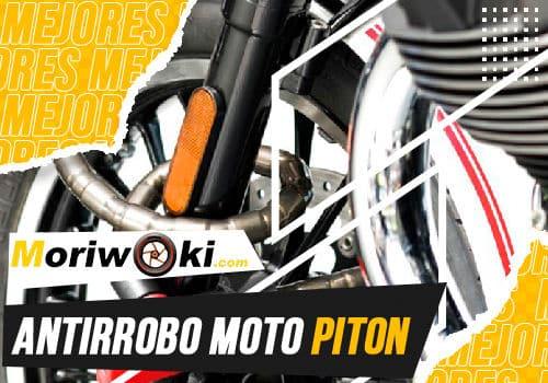 Mejores antirrobo moto piton