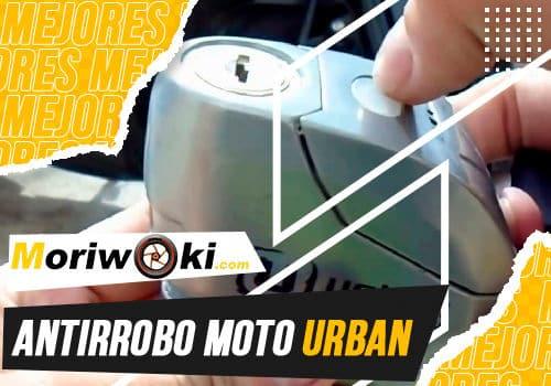 Mejores antirrobo moto urban