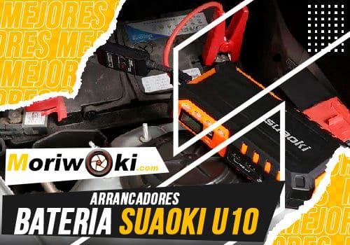 Mejores arrancadores bateria suaoki u10