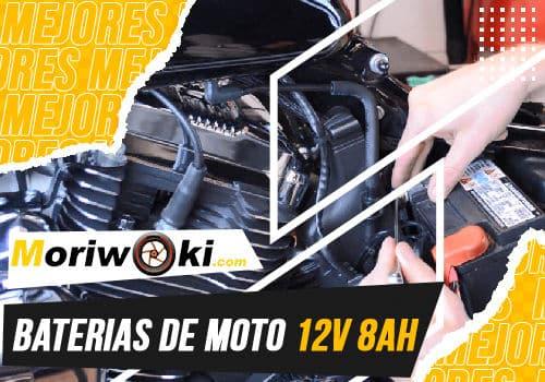 Mejores baterias de moto 12V 8AH