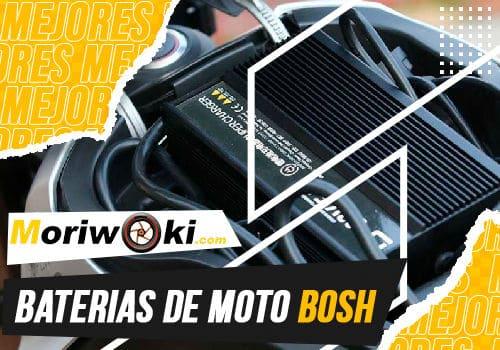 Mejores baterias de moto bosh