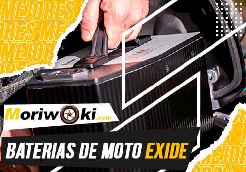 Mejores baterias de moto exide