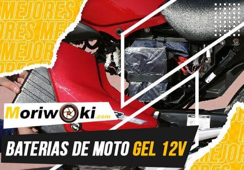 Mejores baterias de moto gel 12v