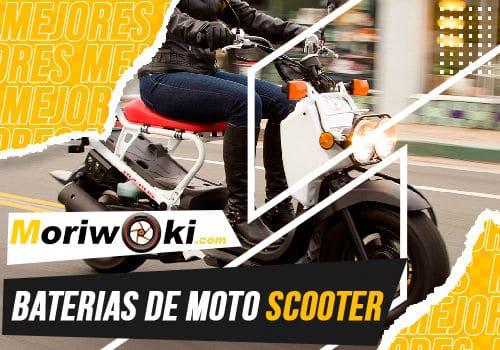 Mejores baterias de moto scooter