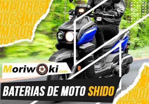 Mejores baterias de moto shido
