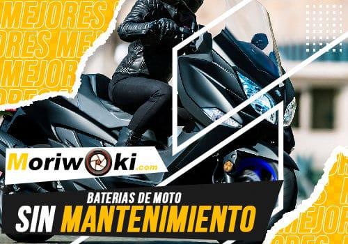 Mejores baterias de moto sin mantenimiento