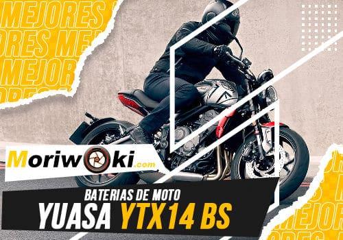 Mejores baterias de moto yuasa ytx14 bs