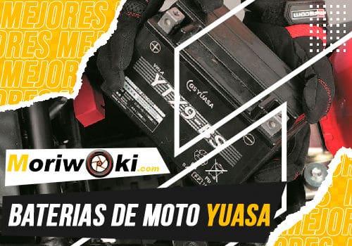 Mejores baterias de moto yuasa