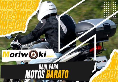 Mejores baul para motos barato