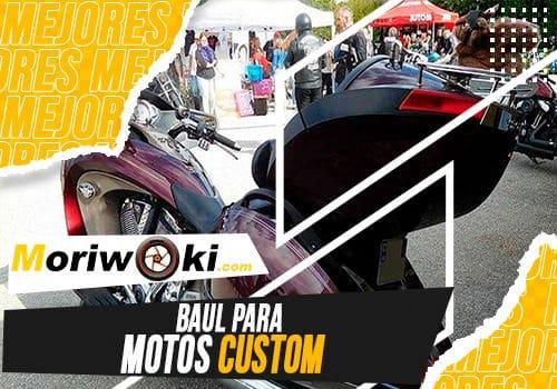 Mejores baul para motos custom