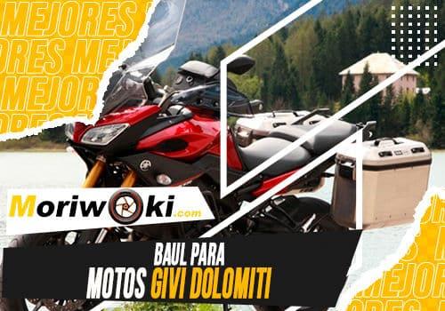 Mejores baul para motos givi dolomiti