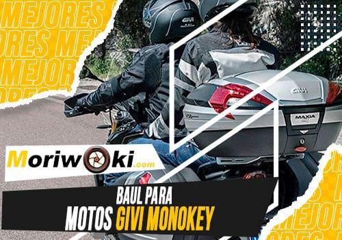 Mejores baul para motos givi monokey