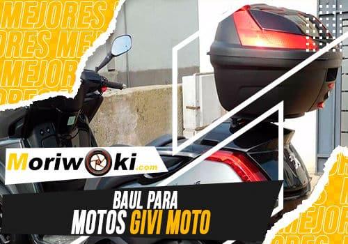 Mejores baul para motos givi moto