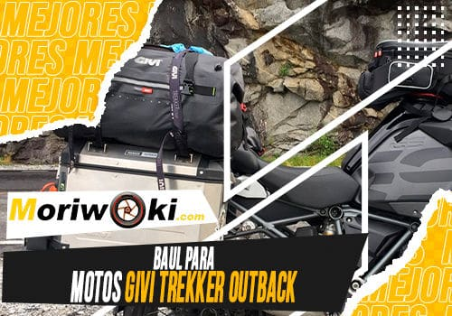 Mejores baul para motos givi trekker outback