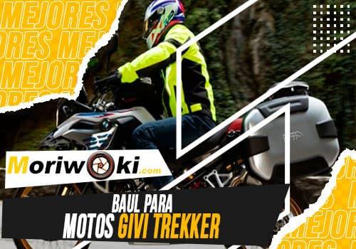 Mejores baul para motos givi trekker