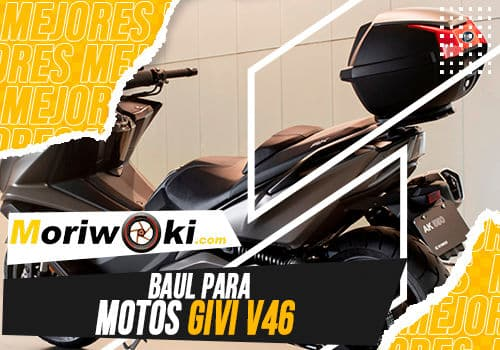 Mejores baul para motos givi v46