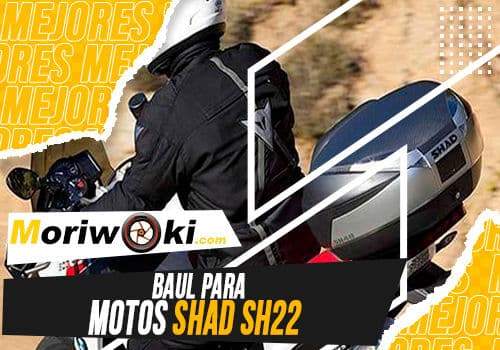 Mejores baul para motos shad sh22