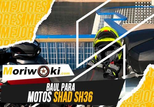 Mejores baul para motos shad sh36