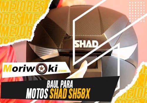 Mejores baul para motos shad sh58x