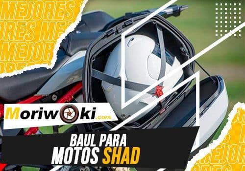 Mejores baul para motos shad