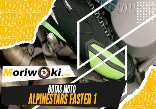 Mejores botas moto alpinestars faster 1