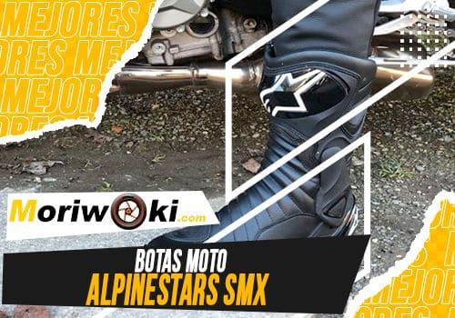 Mejores botas moto alpinestars smx