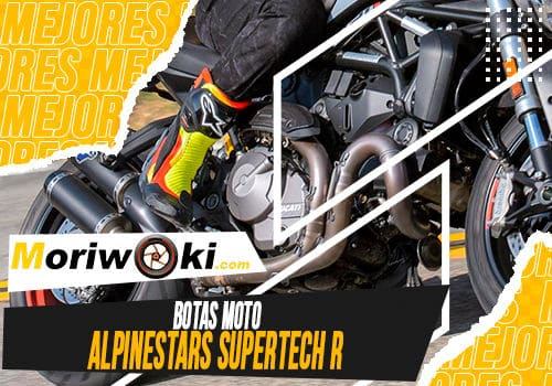 Mejores botas moto alpinestars supertech r