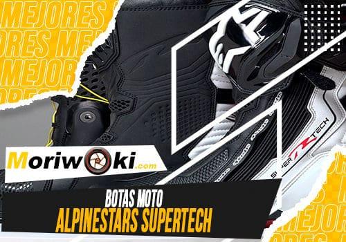 Mejores botas moto alpinestars supertech