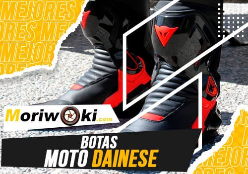 Mejores botas moto dainese