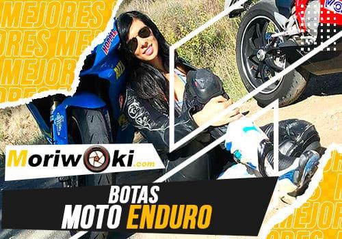Mejores botas moto enduro